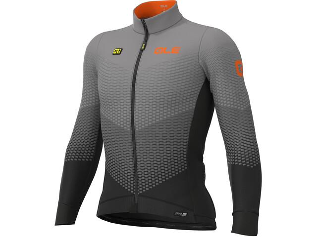 Alé Cycling PR-S Delta Micro Longsleeve Jersey Heren, black-grey
